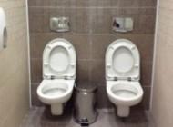 ساخت توالت های دوقلو جنجالی شد