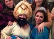مهمانی جالب به روش سریال حریم سلطان (عکس)