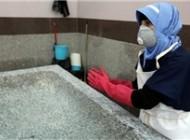 دختر دانشجوی غسال ایرانی!+عکس